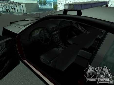 Ford Mustang GT Police para GTA San Andreas traseira esquerda vista
