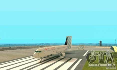 Airbus A321 Air Canada para GTA San Andreas