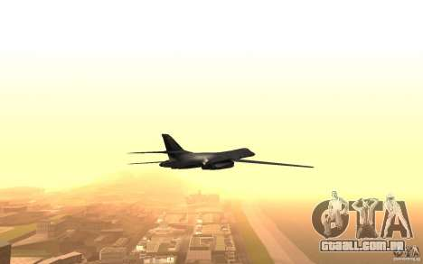 B1-B LANCER para vista lateral GTA San Andreas