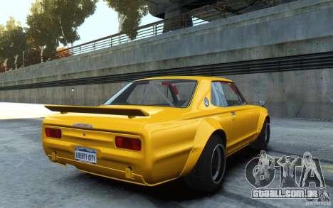 Nissan Skyline 2000GT-R C10 Speedhunters para GTA 4