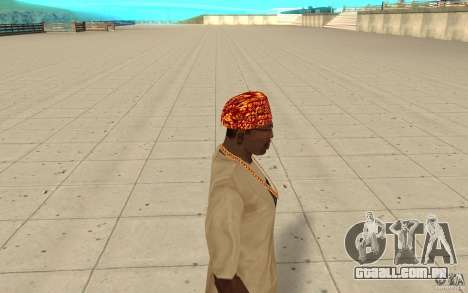 Bandana de Halloween para GTA San Andreas segunda tela