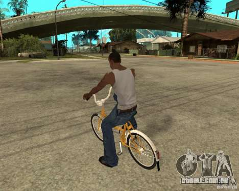 Cegonha para GTA San Andreas esquerda vista