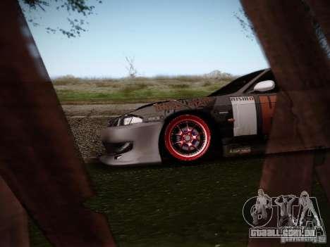 Nissan Silvia S14 Hell para GTA San Andreas vista traseira