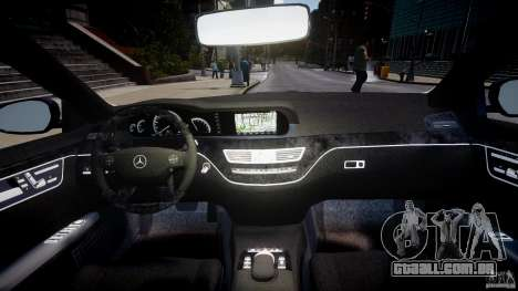 Mercedes-Benz S-Class W221 BRABUS SV12 para GTA 4 vista direita