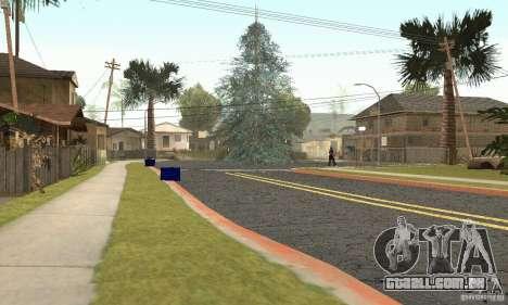 Árvore de Natal para GTA San Andreas segunda tela