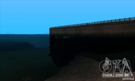 ENBSeries 0.075 para GTA San Andreas por diante tela