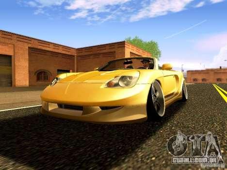 Toyota MR-S para GTA San Andreas vista traseira