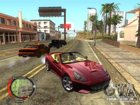 New HUD by shama123 para GTA San Andreas segunda tela