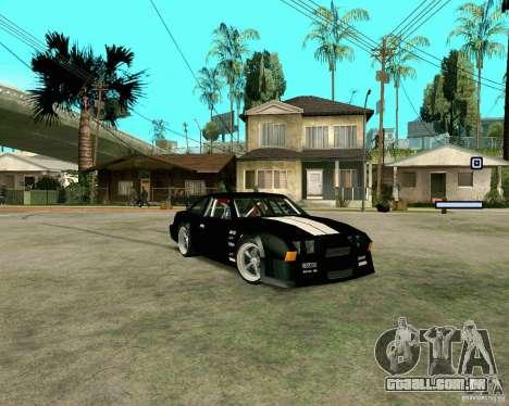 Hotring Racer Tuned para GTA San Andreas esquerda vista