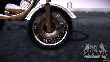 Honda CG 125 para GTA San Andreas vista direita