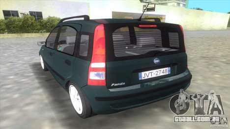 Fiat Panda 2004 para GTA Vice City deixou vista