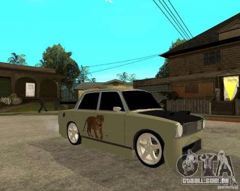 Vaz 2101 D-LUXE para GTA San Andreas vista direita