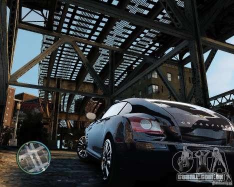 2007 Chrysler Crossfire para GTA 4 traseira esquerda vista