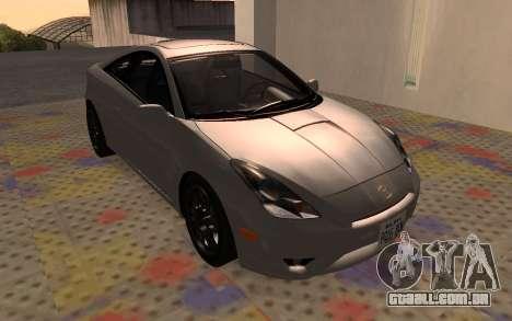 Toyota Celica 2JZ-GTE para GTA San Andreas traseira esquerda vista