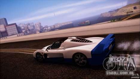Maserati MC12 V1.0 para GTA San Andreas vista direita