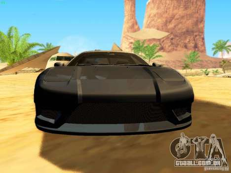 Honda NSX Custom para as rodas de GTA San Andreas