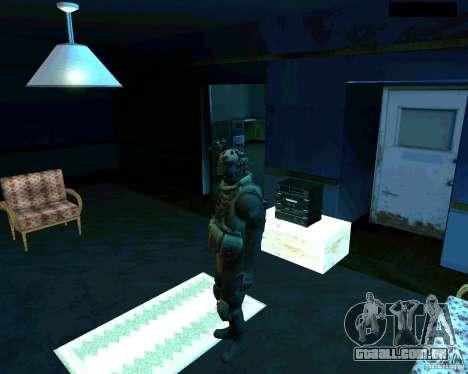 Soldados do CoD MW 2 para GTA San Andreas segunda tela