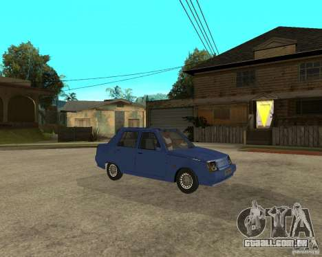 ZAZ 1103 Slavuta para GTA San Andreas vista direita