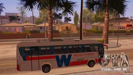 Weena Express para GTA San Andreas vista direita