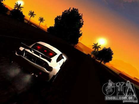 BMW Z4 Rally Cross para GTA San Andreas vista interior