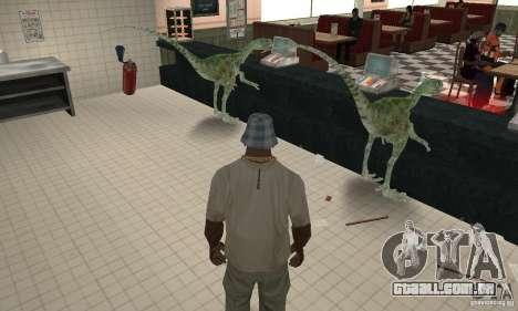 Dinossauro para GTA San Andreas