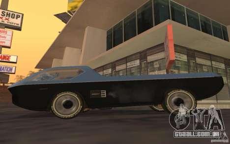 Dodge Deora Concept 1965-1967 para GTA San Andreas esquerda vista