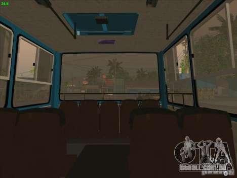 Trailer de Ikarus 280.03 para GTA San Andreas traseira esquerda vista