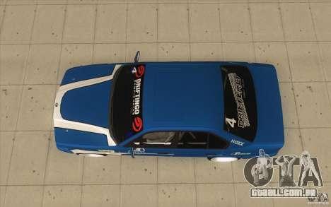 BMW E34 V8 para GTA San Andreas vista direita