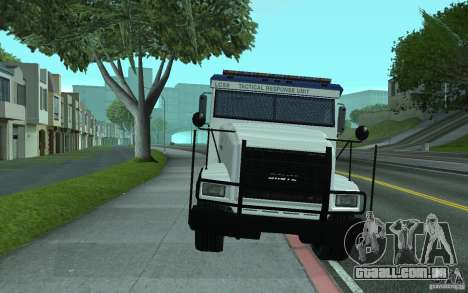 Securicar do GTA IV para GTA San Andreas vista superior