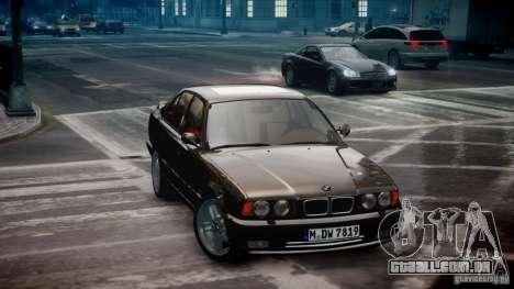 BMW M5 (E34) 1995 v1.0 para GTA 4 esquerda vista