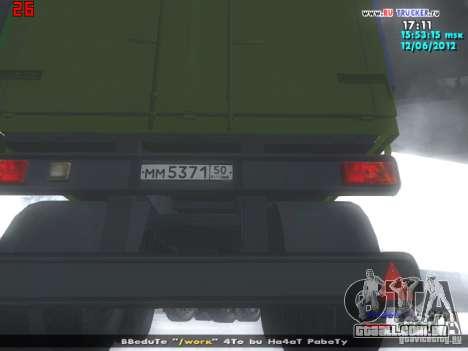 Nefaz 93344 para GTA San Andreas vista traseira