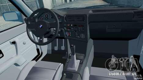 BMW M3 E30 FINAL para GTA 4 vista interior
