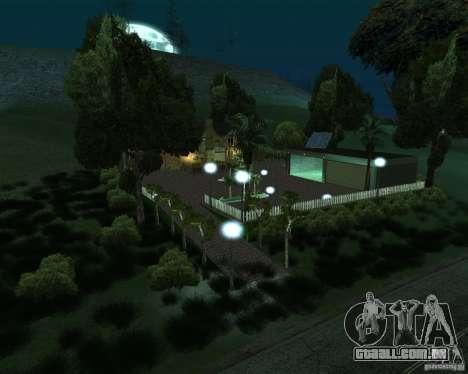 Villa nova para o CJ para GTA San Andreas segunda tela