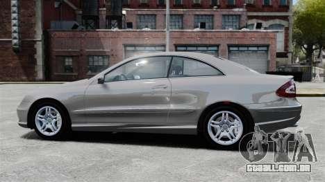 Mercedes-Benz CLK 55 AMG Stock para GTA 4