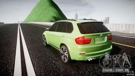 BMW X5 M-Power para GTA 4 traseira esquerda vista