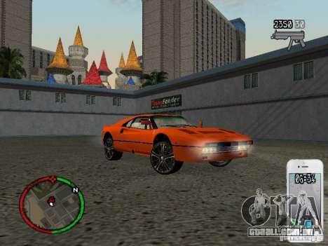 GTA IV HUD v1 by shama123 para GTA San Andreas sétima tela