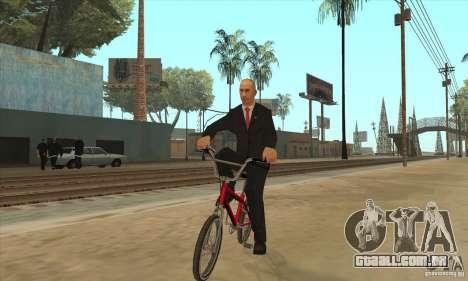 Vladimir Vladimirovich Putin para GTA San Andreas por diante tela