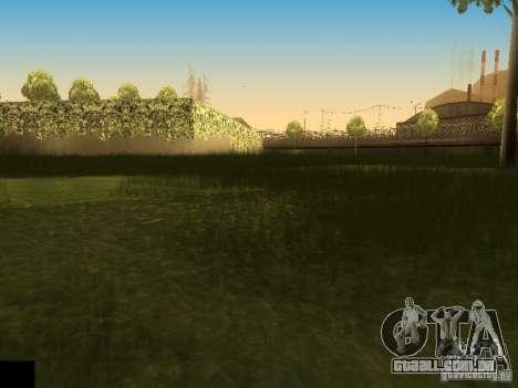 ENB project by jeka para GTA San Andreas por diante tela