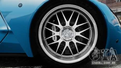 Marussia B2 para GTA 4 vista de volta