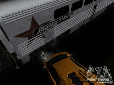 Crazy Trains MOD para GTA San Andreas por diante tela