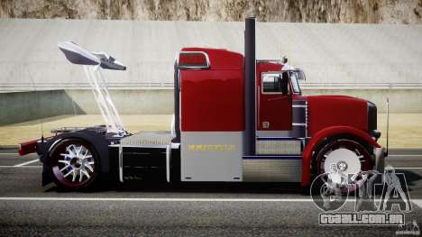 Peterbilt Sport Truck Custom para GTA 4 esquerda vista