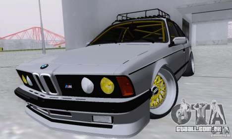 BMW M635CSi Stanced para GTA San Andreas