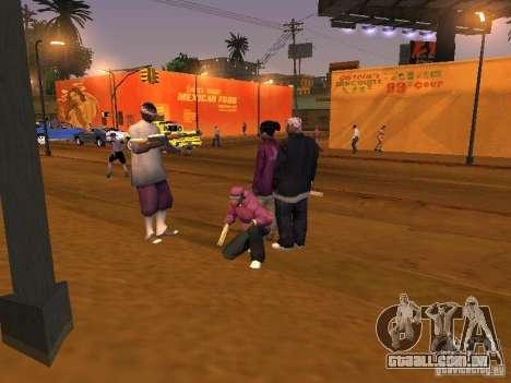 Ballas 4 Life para GTA San Andreas twelth tela
