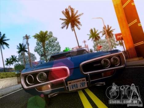 Dodge Coronet Super Bee v2 para GTA San Andreas esquerda vista