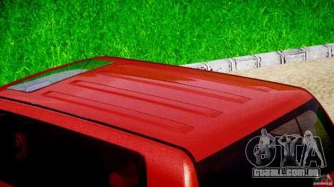 Toyota Land Cruiser 200 2007 para GTA 4 vista superior