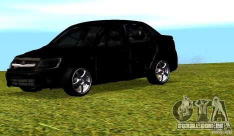 LADA Granta v 2.0 para GTA San Andreas vista superior