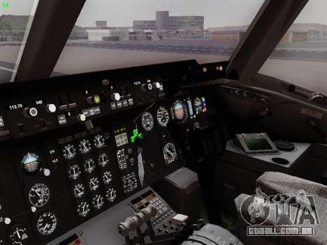 McDonell Douglas DC-10-30 British Airways para GTA San Andreas vista traseira