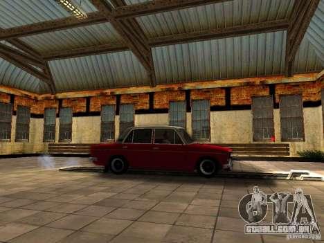 2106 VAZ velho para GTA San Andreas vista direita