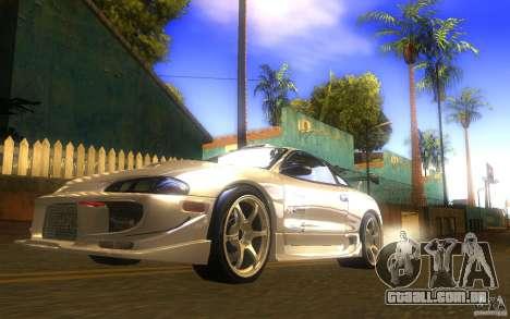 Mitsubishi Eclipse DriftStyle para GTA San Andreas vista direita