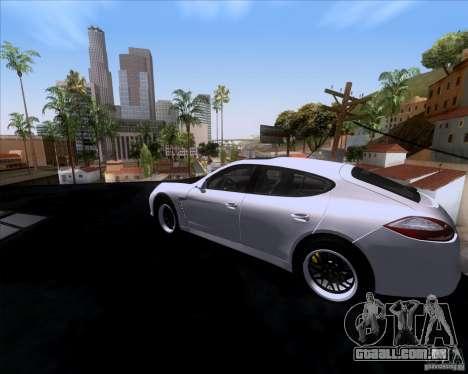 Porsche Panamera 970 Hamann para GTA San Andreas esquerda vista